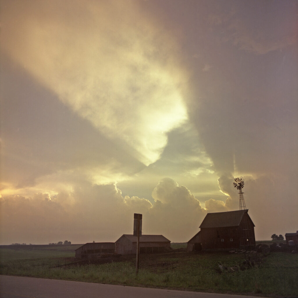 Windmill at Sunset by Roger Camp in Backchannels Literary Journal